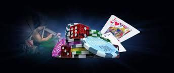chips cards dices hand
